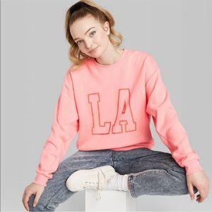 NWOT. Women's Oversized Crewneck Sweatshirt